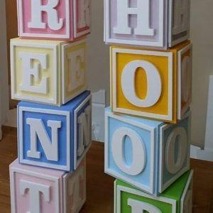باکس رنگی با حاشیه